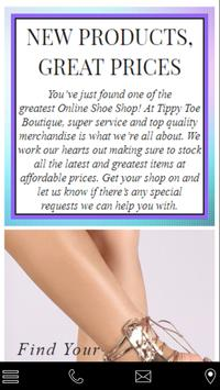 Tippy Toe Boutique poster