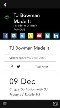 TJ Bowman Made It apk screenshot
