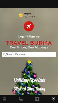 Travel Burma poster