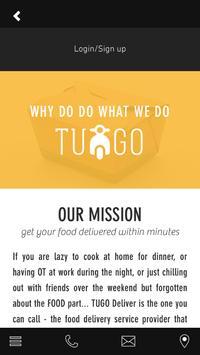 TUGO Deliver apk screenshot