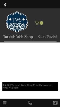 Turkish Web Shop screenshot 2