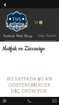 Turkish Web Shop screenshot 4