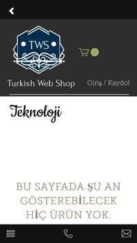 Turkish Web Shop screenshot 5