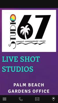 tv live shot studios poster