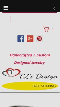 TZ's Design Custom Jewelry poster