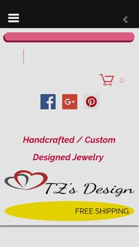 TZ's Design Custom Jewelry screenshot 2