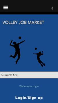 volley job market screenshot 2