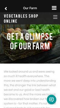 Vegetables Shop Online apk screenshot