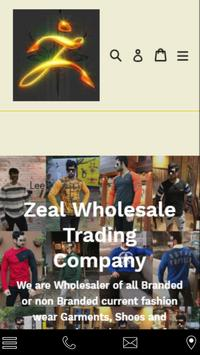 Zeal Wholesale poster