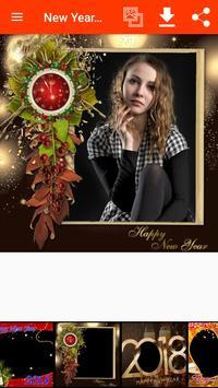 New Year Photo Frames screenshot 14