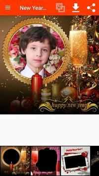 New Year Photo Frames screenshot 1