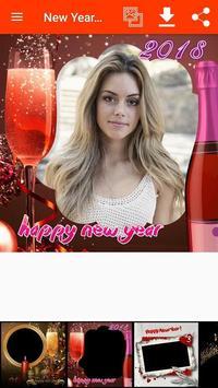New Year Photo Frames screenshot 2