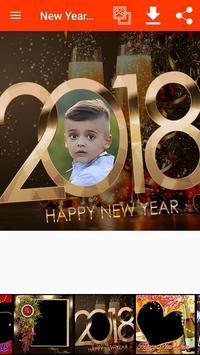 New Year Photo Frames screenshot 3