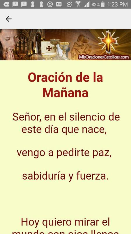 Oracion De La Mañana En Español Für Android Apk Herunterladen