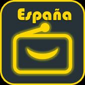 Spain Music Radio AM FM radio free icon
