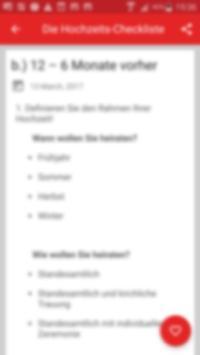 The wedding checklist screenshot 3