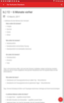 The wedding checklist screenshot 12