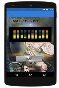 Pop music in English apk screenshot