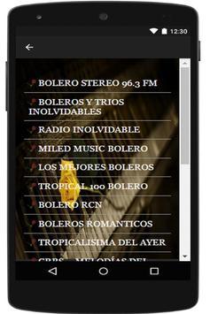Boleros Free -  Free Boleros Music screenshot 3