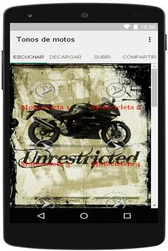 Tonos de motos apk screenshot