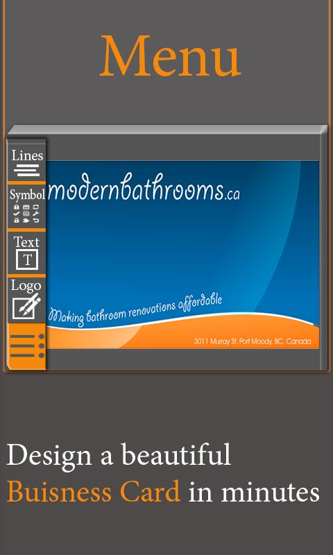 Livre visita e business template card maker pro para android apk livre visita e business template card maker pro imagem de tela 5 reheart Gallery