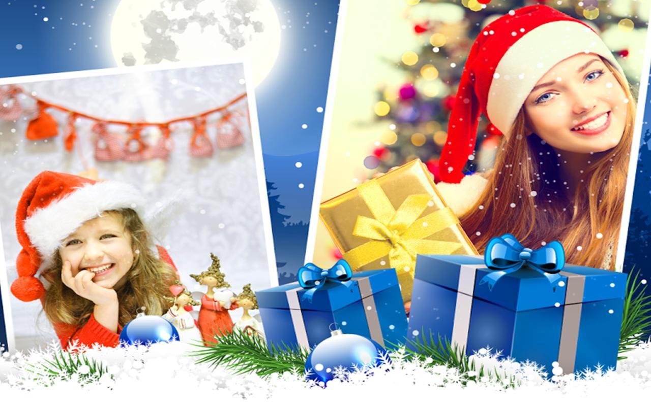 merry christmas photo frames santa image editor screenshot 6