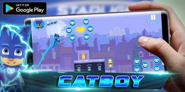 PJ catboy - Masks Run Adventure apk screenshot