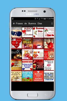 Frases de Buenos Dias apk screenshot