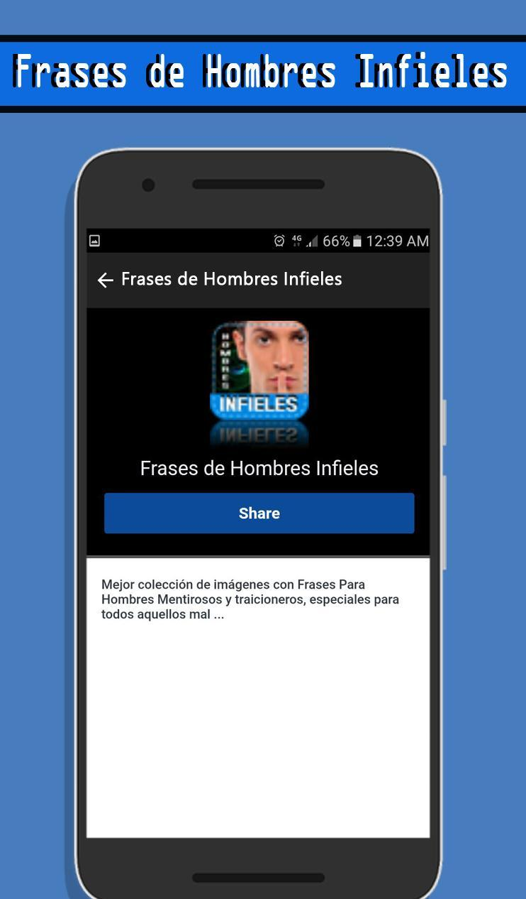Frases De Hombres Infieles For Android Apk Download