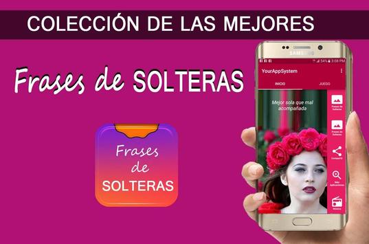 Frases de Solteras apk screenshot