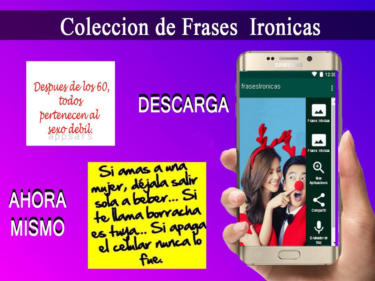 Frases Ironicas For Android Apk Download
