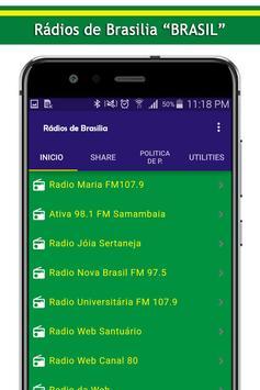 Radios de Brasilia screenshot 1