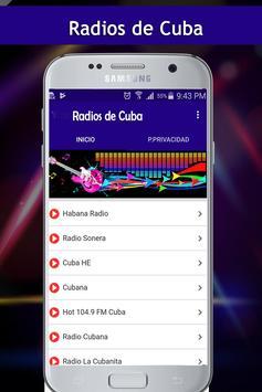 Radios de Cuba poster