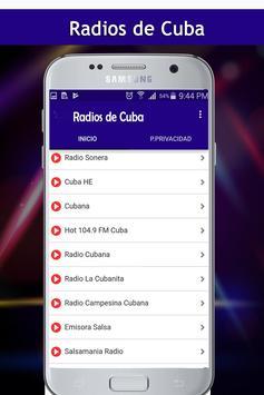 Radios de Cuba screenshot 1