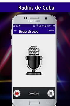 Radios de Cuba screenshot 2