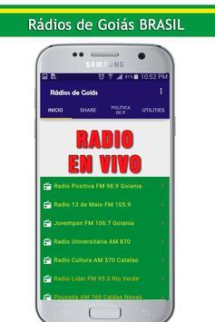 Rádios de Goiás screenshot 3