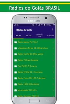 Rádios de Goiás screenshot 1