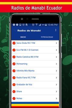 Radios de Manabi screenshot 1