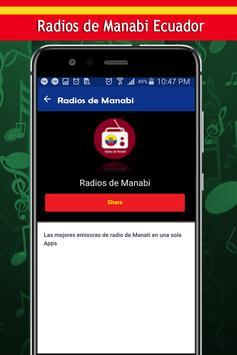 Radios de Manabi screenshot 2