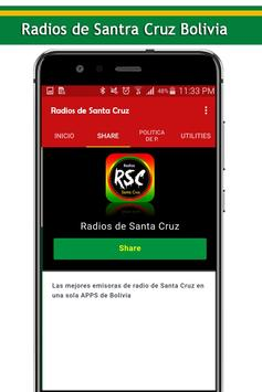 Radios de Santa Cruz Bolivia screenshot 1
