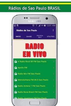 Radios de Sao Paulo poster