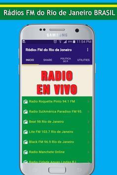 Radios FM do Rio de Janeiro poster