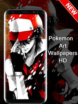 Pokemon Art Wallpaper poster