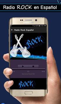 Radio Rock Spanish screenshot 1