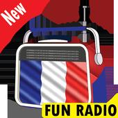 Fun radio en direct gratuit, France radio stations icon