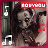Sonneries effrayantes sonneries gratuite telephone icon
