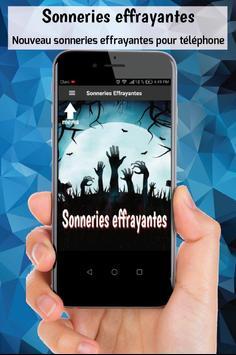 Sonneries effrayantes sonneries gratuite telephone poster