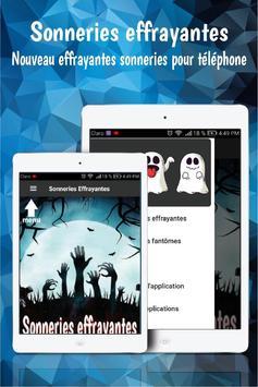 Sonneries effrayantes sonneries gratuite telephone screenshot 5