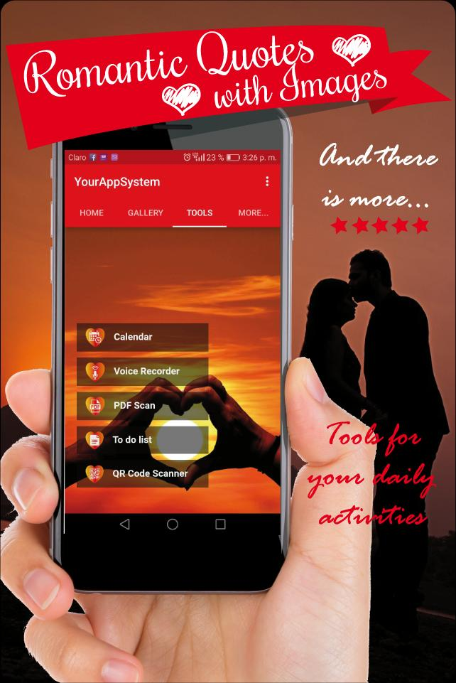 romantic quotes with images best love messages app for Android - APK
