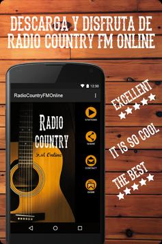 Radio Country FM Online all music stations free poster